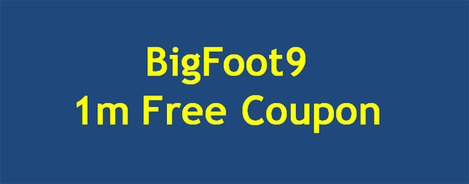 BigFoot free coupon
