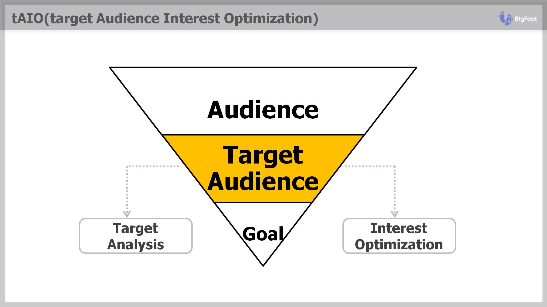 tAIO 1단계 target Audience Sement 분류